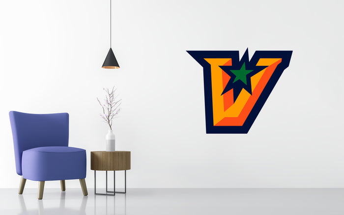Texas–Rio Grande Valley Basketball NCAA Wall decal Stickerw