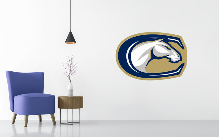 UC Davis Basketball NCAA Wall decal Stickerz