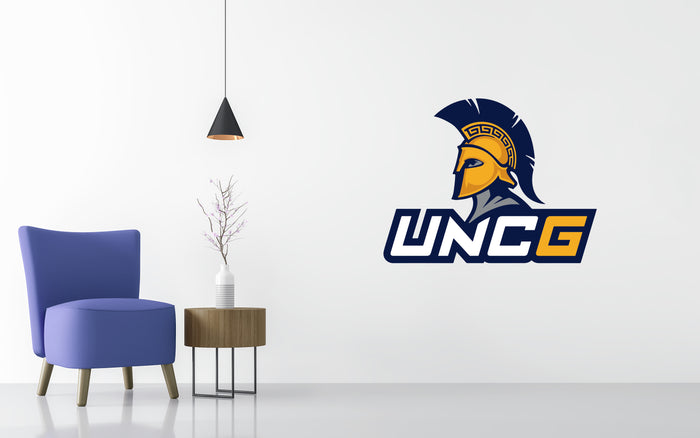 UNC Greensboro Spartans Basketball NCAA Wall decal Sticker