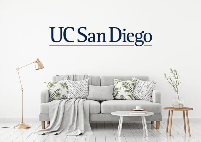University of California, San Diego (UCSD) USA California Universities Logo Wall decal Stickers