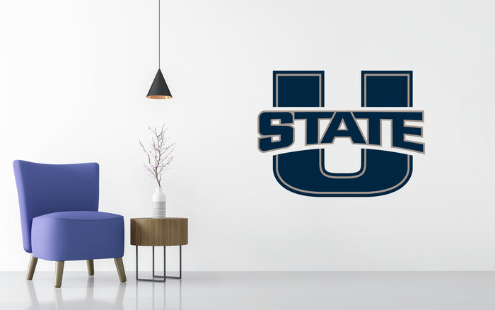 Utah State Aggies Basketball NCAA Wall decal Sticker