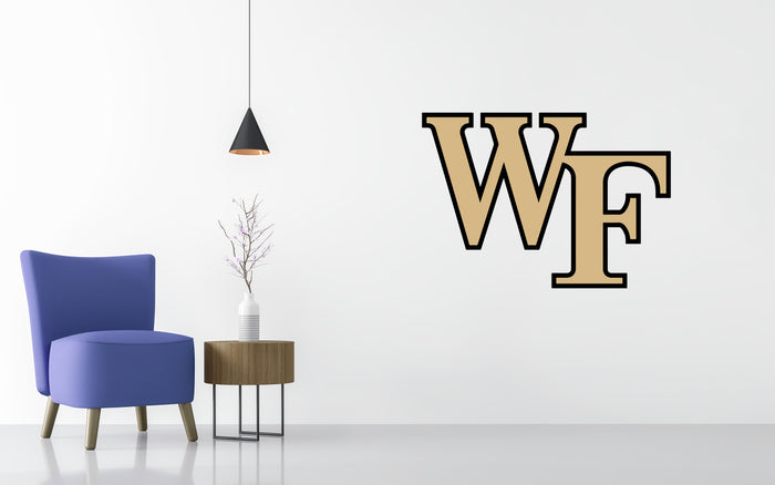 Wake Forest Basketball NCAA Wall decal Sticker