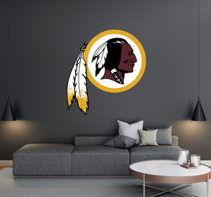 Washington Redskins Logo Wall Decal