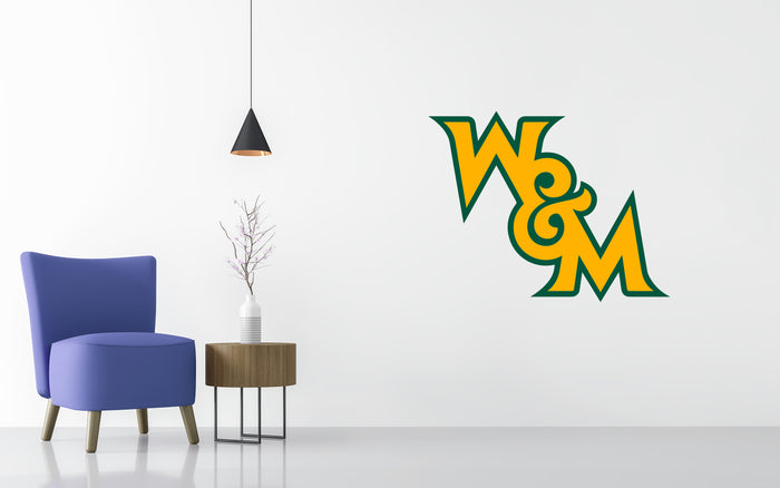 William & Mary Basketball NCAA Wall decal Stickerz