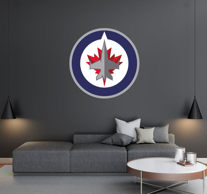 Winnipeg Jets Logo Wall Decal