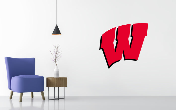 Wisconsin Badgers Basketball NCAA Wall decal Sticker