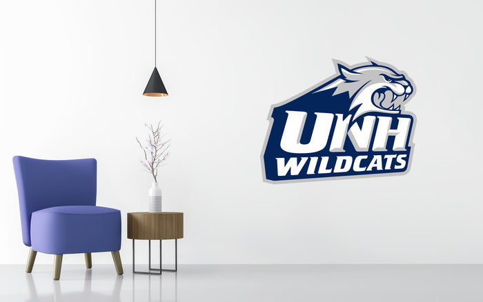 New Hampshire Basketball NCAA Wall decal Sticker