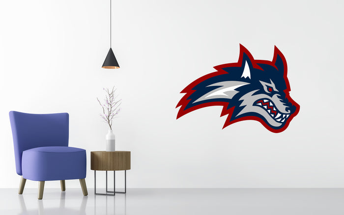 Stony Brook Basketball NCAA Wall decal Sticker