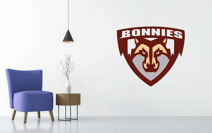 St. Bonaventure Basketball NCAA Wall decal Sticker