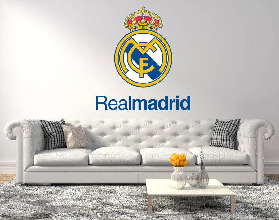 Real Madrid Logo Wall Decal