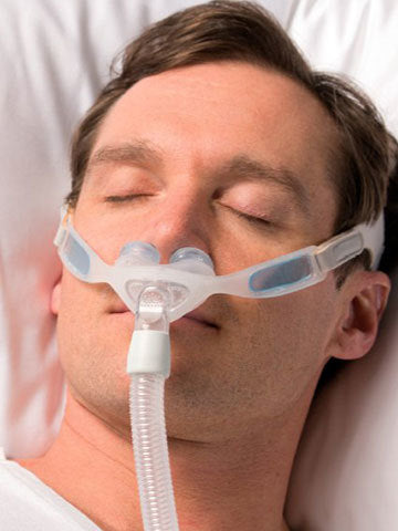 Respironics Nuance Pro Gel Pillow Mask with Headgear - Philips Respironics - 1105167