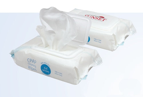 Sunset HCS CPAP Cleaning Wipes - Sunset HCS - CAP1003S