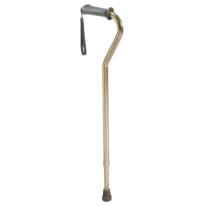 Rehab Ortho K Grip Offset Handle Cane with Wrist Strap