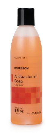 McKesson Antibacterial Soap Liquid 8 oz. Bottle Clean Scent