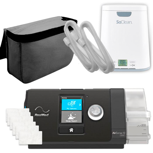 Resmed AirPack - AirSense S10 CPAP w/ SoClean 2 & Sanitizer Bundle 37203 - ResMed - APSO-37203-63101