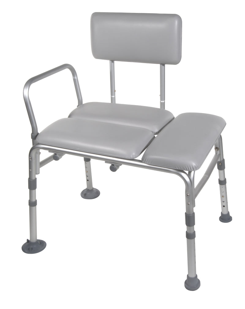 Padded Seat Transfer Bench