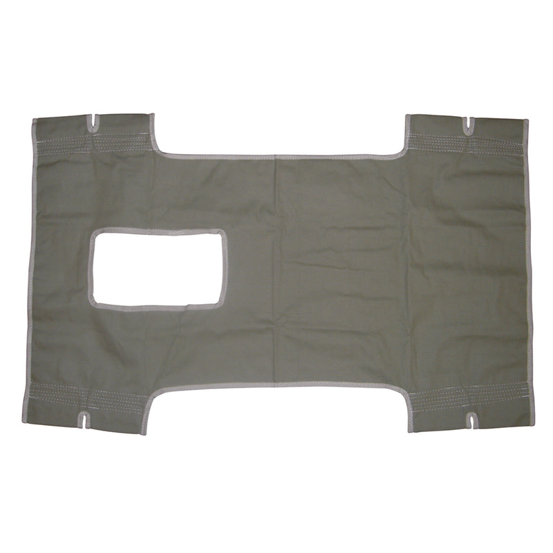Patient Lift Sling, Canvas with Commode Cutout