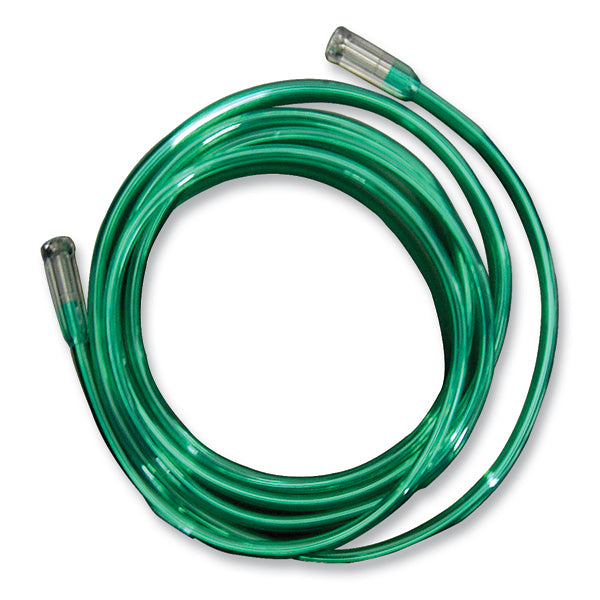 Salter Labs Oxygen Green Tubing with Standard Connectors, 21 Feet