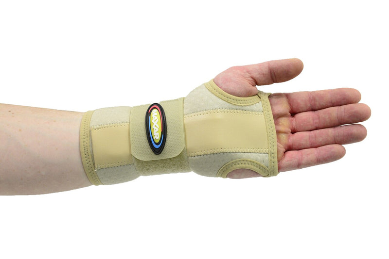 MAXAR Airprene (Breathable Neoprene) Wrist Splint - Beige