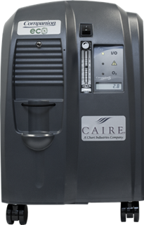 Caire Companion 5 Home Oxygen Concentrator System - AirSep - 15067005