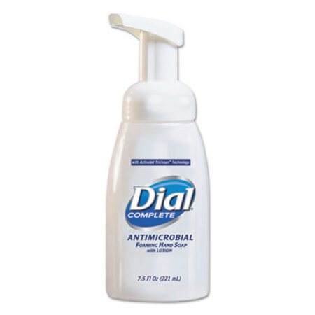 Dial Antimicrobial Foaming Hand Soap w/Lotion - 7.5 oz Pump Bottle