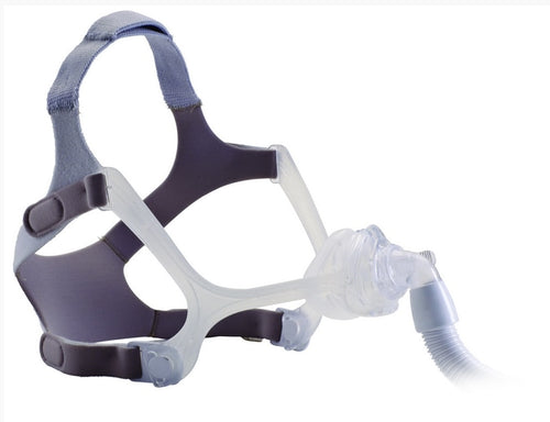 Wisp Nasal Mask with Clear Frame and Headgear - Philips Respironics - 1094050