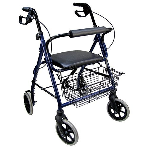 Aluminum Easy Walk Royal Rollator - Blue