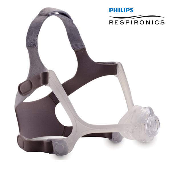 Philips Respironics Wisp Nasal CPAP Mask with Clear Frame and Headgear - Philips Respironics - 1094050