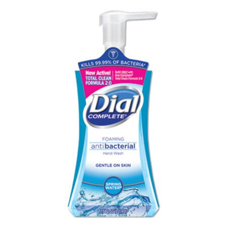 Dial Complete Foaming Anti Bacterial Hand Wash - Spring Water 7.5 oz