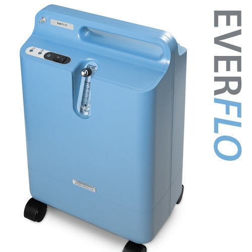Respironics EverFlo Q Oxygen Concentrator w/ Oxygen Percentage Indicator - Philips Respironics - 1020014