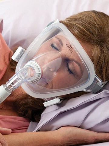 Respironics FitLife Total Face Mask with Headgear - Philips Respironics - 1060801