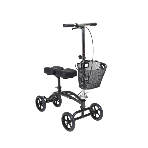 RENT The DRIVE MEDICAL KNEE WALKER ADJUSTABLE HEIGHT DV8 STEERABLE ALUMINUM