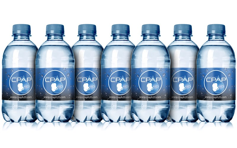 CPAP H2O Premium Distilled Water - 10 Bottle Pack