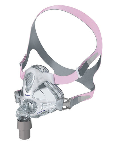 Resmed Quattro FX for Her Full Face Mask System with Headgear - ResMed - 62500