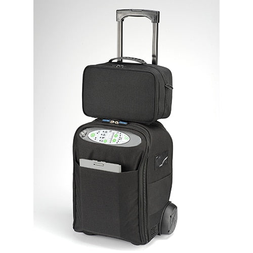 RENT DeVilbiss Healthcare iGo Portable Oxygen Concentrator with Wheeled Case - DeVilbiss Healthcare - 306DS-CR-1