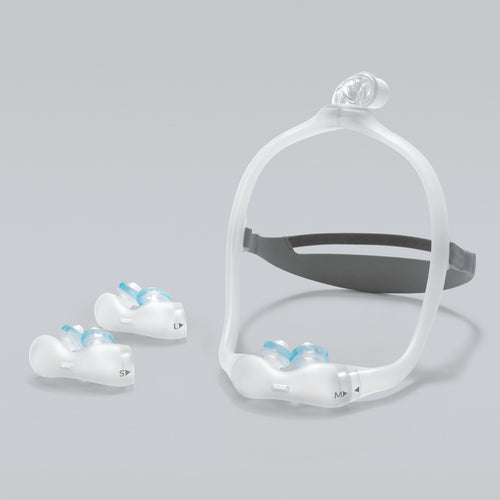 Respironics DreamWear Gel Nasal Pillow Mask with Headgear - Philips Respironics - 1124984