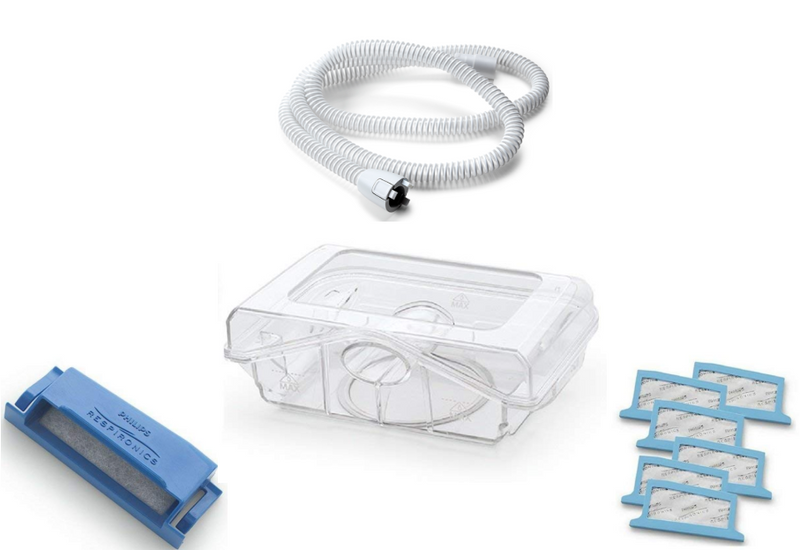 Philips Respironics DreamStation CPAP/BIPAP Heated Replacement Bundle