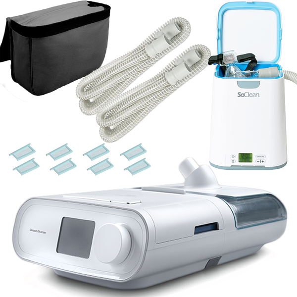 SALE Philips Respironics DREAMCLEAN 600 - Dreamstation BiPAP Kit w/SoClean2