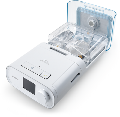 CPAP with humidfier