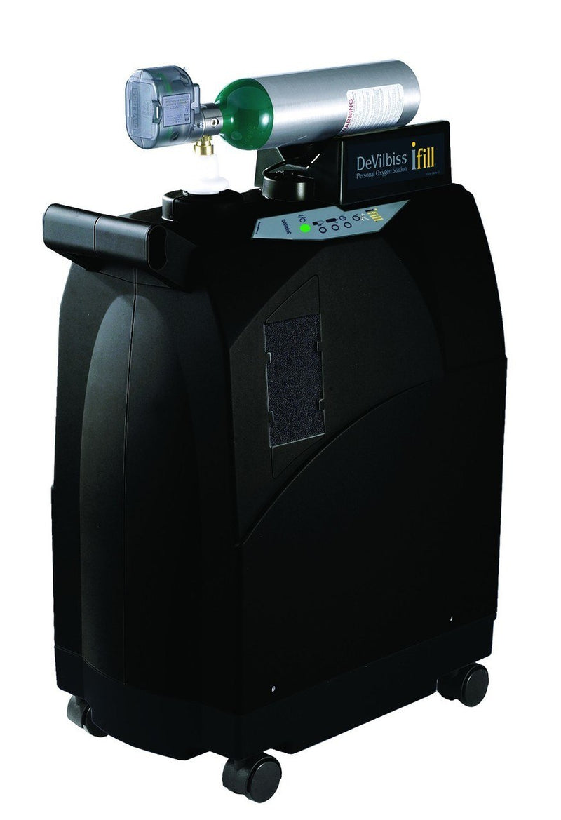 iFill w/ Integrated 870 Post Valve & Cart, 2 E Cylinders