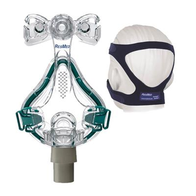 ResMed Mirage Quattro Full Face CPAP Mask Assembly Kit