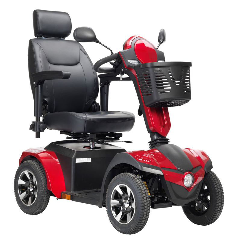 "Panther 4-Wheel Heavy Duty Scooter, 20"" Captain Seat"