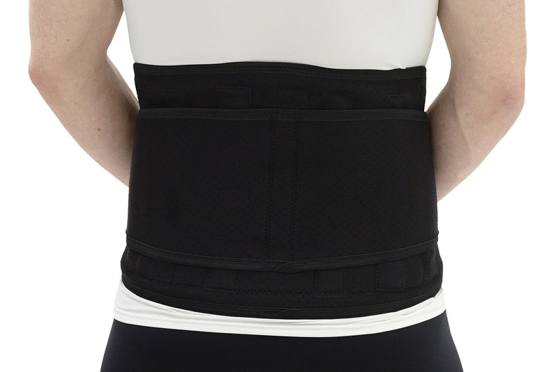 MAXAR Airprene Sport Belt (Breathable Neoprene Lumbosacral Support) - Black