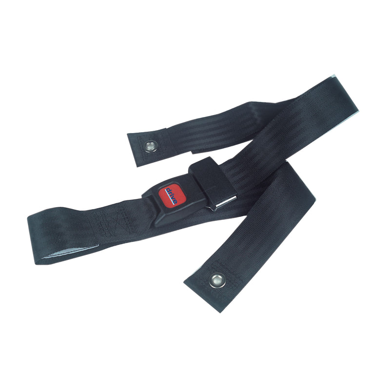 Wheelchair Seat Belt, Auto Style Closure, 60""
