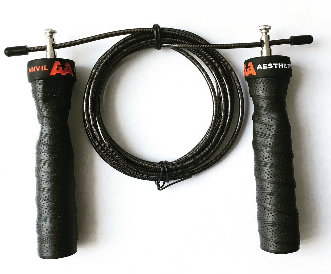 Anvil Aesthetics S1 Black Speed Jump Rope