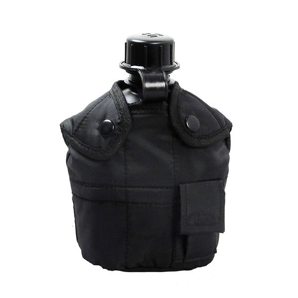 1L Military Style Canteen with Cover and Aluminum Cup