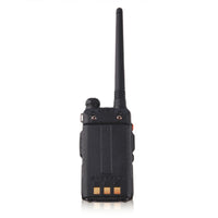Baofeng UV-5RE Full Black Walkie Talkie Amateur Two Way Radio Vhf Uhf Dual Band Ham Radios For Hunting in Moscow