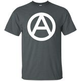 Anarchy T-Shirt (White Print)