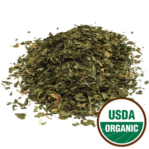 Organic Peppermint Leaf Cut