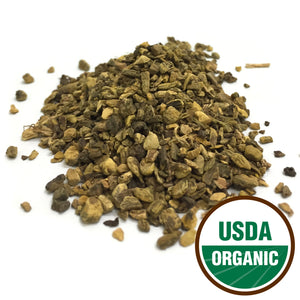 Organic Yellow Dock Root Cut